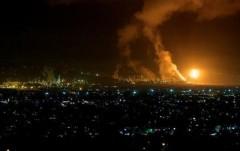 В Калифорнии горит нефтезавод