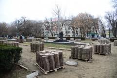 В Невинномысске продолжается благоустройство Бульвара Мира