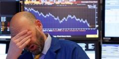 На американском фондовом рынке произошел рекордный обвал