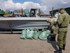 Донские пограничники задержали рыбаков с уловом на 750 тысяч рублей