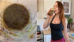Британка пьет коктейль из спермы, чтобы не заболеть COVID-19