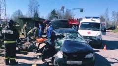Пятеро военных пострадали при ДТП под Петербургом