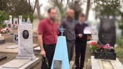 В Усть-Лабинском районе Кубани задержали серийных похитителей могильных плит