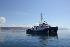 Пограничники Кубани продолжают пресекать незаконные выходы плавсредств в море
