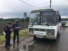 В Адыгее полицейские проверяют водителей автобусов на наличие лицензий
