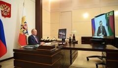 Глава Кубани доложил президенту об эпидемиологической ситуации в регионе