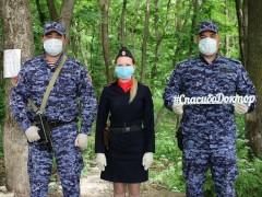 Росгвардейцы Ставрополья приняли участие в акции в поддержку медиков «Спасибо, доктор»
