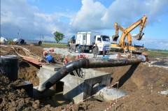 На Кубани идут работы на Троицком групповом водопроводе
