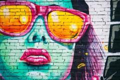 В Краснодаре появилось граффити-благодарность врачам и волонтерам за их труды