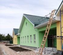 Завершается строительство нового корпуса детского сада «Звездочка» в селе Александровском