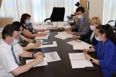 В Минстрое Ставрополья состоялось заседание коллегии