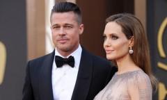 Впервые за 4 года Брэд Питт приехал в гости к Анджелине Джоли