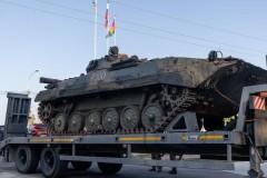 Росгвардия пополнила экспозицию военной техники музейного комплекса в Анапе