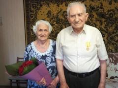 Невинномысскому ветерану Григорию Сигачеву вручили медаль