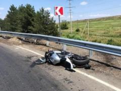В Адыгее с начала года произошло восемь ДТП с участием мотоциклистов