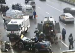 ДТП на МКАД: в Москве столкнулись два автомобиля, есть пострадавшие
