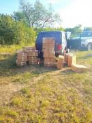 Донские пограничники пресекли контрабанду сигарет  на 725 тысяч рублей