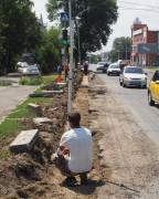 В Невинномысске приступили к ремонту дороги на улице Революционной