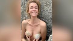 Обнаженная 42-летняя актриса Любовь Толкалина примерила образ Русалочки