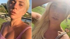 Леди Гага восхитила фанатов своим селфи без макияжа