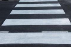 На опасном участке дороги в Кореновске установили ограничение скорости и обновили разметку