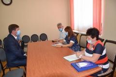 Светлана Бессараб провела в Каневском районе прием граждан по вопросам трудового законодательства