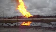 Три работника пострадали при пожаре на месторождении в Югре
