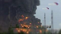 При пожаре на нефтепроводе в Югре один человек погиб, двое пострадали