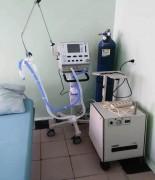 В невинномысской горбольнице появилось 10 новых аппаратов ИВЛ