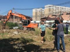 В Краснодаре под снос пошел фундамент-самострой