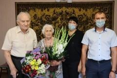 В Невинномысске ветеран Великой Отечественной войны отметил 97-летие