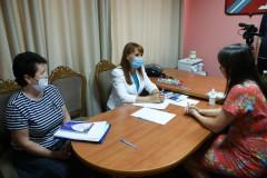 Депутат Госдумы Светлана Бессараб провела прием граждан в Туапсе