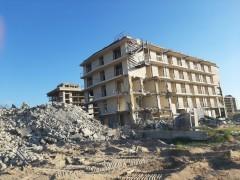 В «Анапской пересыпи» снесли базу отдыха