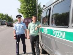 В Новороссийске рейд приставов с ГИБДД принес 2 миллиона рублей