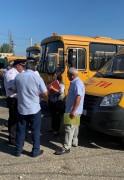В Адыгее перед стартом учебного года госавтоинспекторы проверяют состояние школьных автобусов