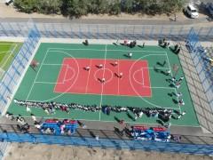 Еще одну новую спортивную площадку открыли в Невинномысске