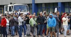 На заводе БелАЗ не прекращается забастовка