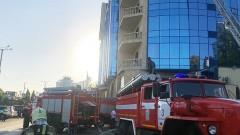 В Ростове загорелась гостиница Radisson Blu Rostov-on-Don