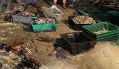 Донские пограничники задержали четверых браконьеров с уловом на 1 млн рублей