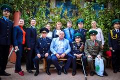 Глава Невинномысска поздравил с юбилеем фронтовика-пограничника
