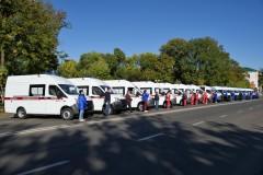 Автопарк скорой медпомощи Адыгеи пополнился новыми автомобилями