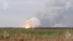 На складах под Рязанью произошел крупный пожар, слышны взрывы