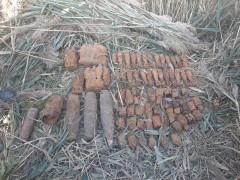 На Кубани росгвардейцы уничтожили 136 боеприпасов времен Великой Отечественной войны