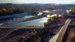 В Невинномысске завершается строительство дамбы и новой набережной на левом берегу Кубани