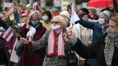 В Минске сотни пенсионеров участвуют в марше оппозиции