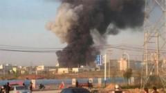 В Китае при взрыве на фабрике по производству полиэтилена погибли три человека