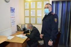В Предгорном районе Ставрополья общественник проинспектировал работу дежурной части и ИВС