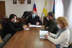 В Железноводске состоялось заседание Общественного совета при отделе полиции