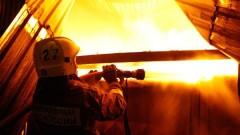 Склад пиломатериалов загорелся в Ростове-на-Дону