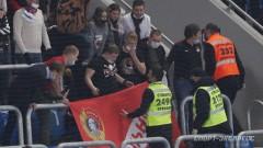 Около 20 человек задержаны из-за потасовки на матче